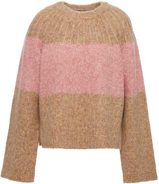 Joie Nirmala Two-tone Wool-blend Sweater