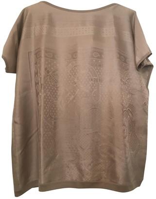 Hermes Beige Silk Knitwear for Women