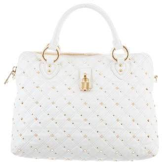 Marc Jacobs Quilted Leather Rio Satchel