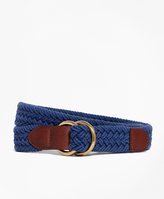 Brooks Brothers Cotton Braided Belt