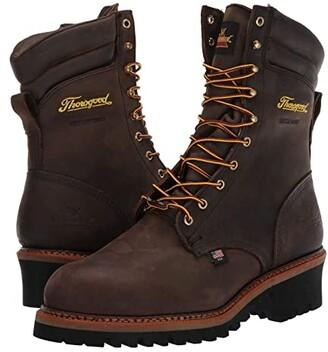 Thorogood Logger Series - Waterproof Steel Toe 9 (Brown) Men's Boots