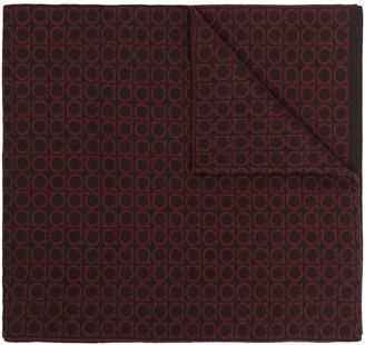 Salvatore Ferragamo Gancini-pattern scarf
