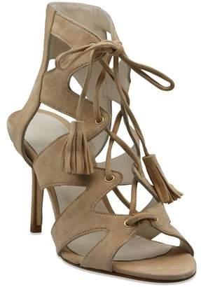 Bettye Muller Swell Lace-Up Open Toe Heeled Sandal