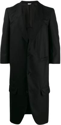 Comme des Garcons single-breasted long blazer