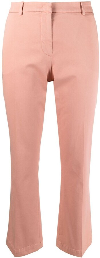 Pt01 Kick-Flare Cropped Trousers