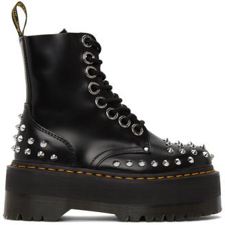 Dr. Martens Black Max Studded Jadon Hi Boots