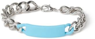 Topman Blue Bar Chain Bracelet*