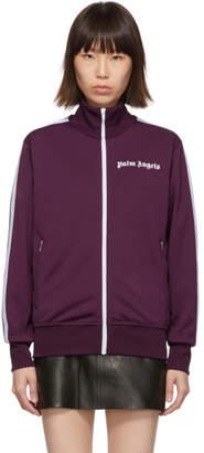 Palm Angels Purple Classic Track Jacket