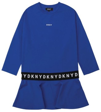 DKNY Logo Belt Dress (6-16 Years)