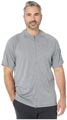 Reboundwear The Jim S/S Easy Dressing Adaptive Top (Heather Grey) Men's T Shirt