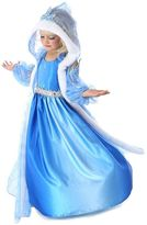 Snow Queen Gown & Cape Costume - Kids