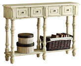 Monarch Antique-Finish Console Table