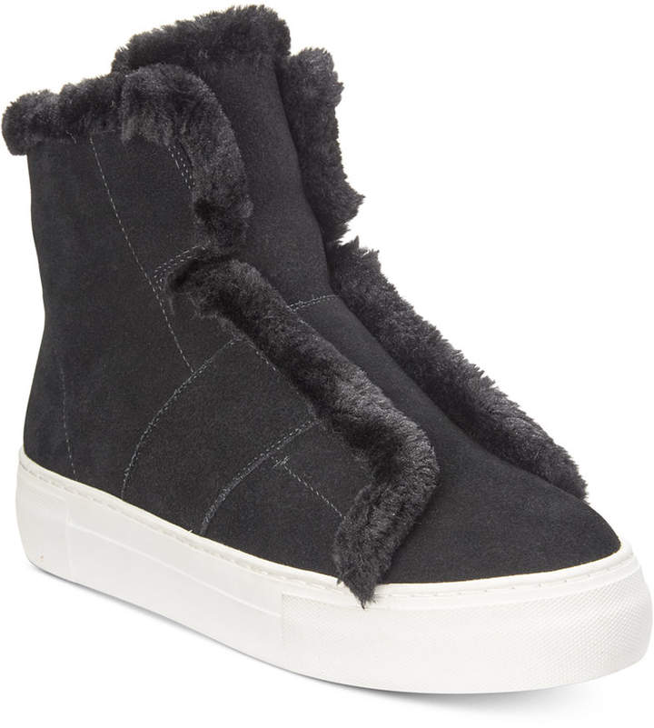 DKNY Mason High-Top Sneakers