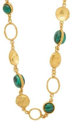 Sylvia Toledano - Long Malachite Necklace - Womens - Green