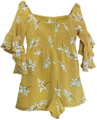 River Island Yellow Jumpsuit for Women
