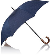 Barneys New York Men's Dotted Stick Umbrella