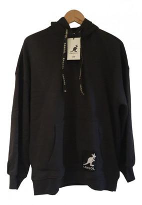 Kangol Black Cotton Knitwear