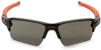 Oakley Miami Dolphins 59MM Flak Sunglasses