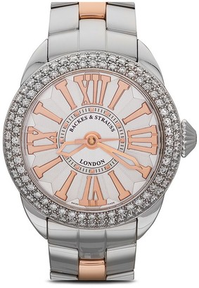 Backes & Strauss Piccadilly Steel 37mm