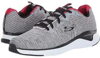 Skechers Solar Fuse Kryzik (Gray/Black) Men's Shoes