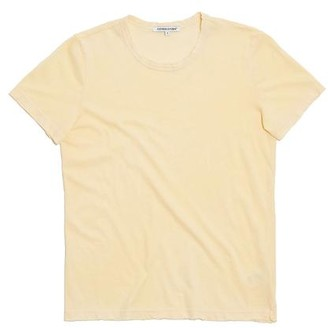 Cotton Citizen The Standard Tee In Vintage Daffodil - S