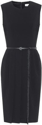 Max Mara Pedale belted jersey dress