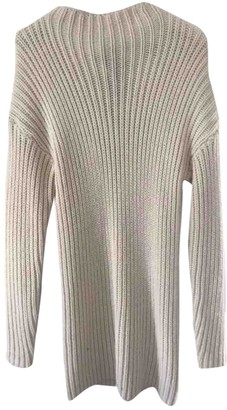 KENDALL + KYLIE White Cotton Dress for Women
