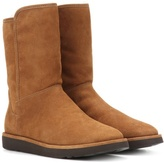 UGG Abree Short II fur-lined suede ankle boots
