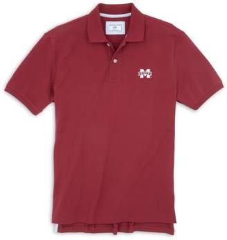 Southern Tide Mississippi State Pique Polo Shirt