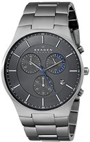 Skagen Men's SKW6077 Balder Grey Titanium Link Watch