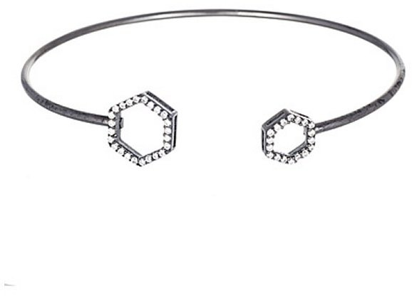Annabella Lilly Sterling Silver Bangle