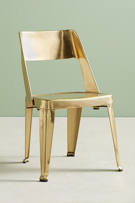 Anthropologie Spenser Stacking Chair By in Brown Size ALL