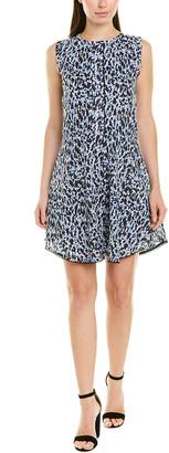 Derek Lam 10 Crosby Printed A-Line Dress