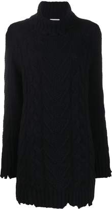 Dondup cable knit dress