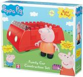 Peppa Pig Family Car Construction Set