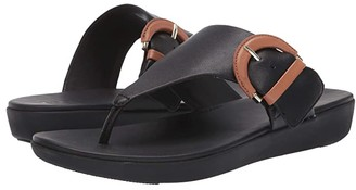 FitFlop Annelia Buckle Toe Thong (Mustard) Women's Shoes