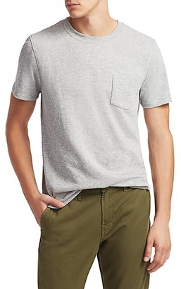 7 For All Mankind Boxer Cotton Pocket Tee