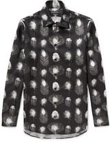Alexander McQueen Printed Silk-Twill Shirt