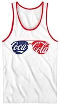 Coca-Cola Men's Coca-Cola® Americana Sunglasses Tank Top - White