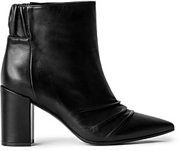 Zadig & Voltaire Women's Glimmer Pointed Toe High Heel Leather Booties