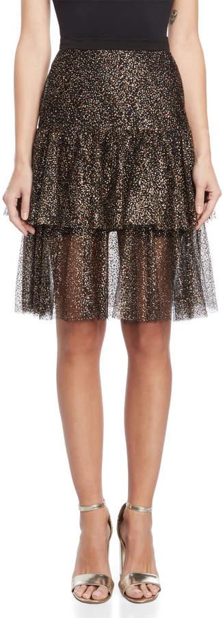 Sparkle Tulle Tiered Skirt