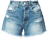 Moussy Sunnyside shorts - women - Cotton - 26
