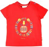 Paul Smith Lion Printed Cotton Jersey T-Shirt