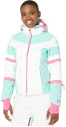 Spyder Captivate GTX Jacket (White) Women's Coat