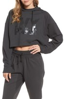 Ivy Park Women's Washed Jersey Logo Crop Hoodie