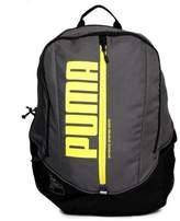 Puma Deck Sports School College Gym Backpack Rucksack Bag Grey/fluro