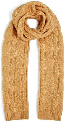 Jigsaw Cosy Cable Knit Scarf