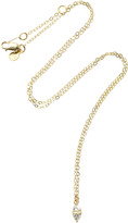 Ila Nessa 14K Gold Sapphire Necklace