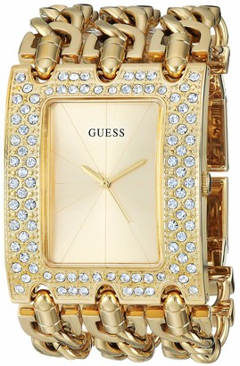 GUESS Women's Quartz Watch with Stainless-Steel Strap