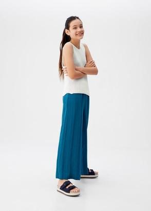 MANGO Sparkled knit top